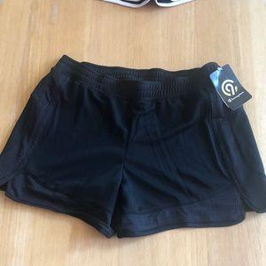 C9 duo dry black athletic shorts